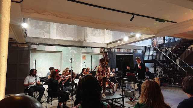 Brixton Chamber Orchestra, Matthew O'Keeffe, Maro Doucoure - Downstairs at the Department Store, Brixton