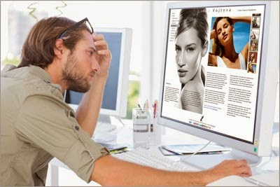 NYC Web Designer Resigning a Model's Website