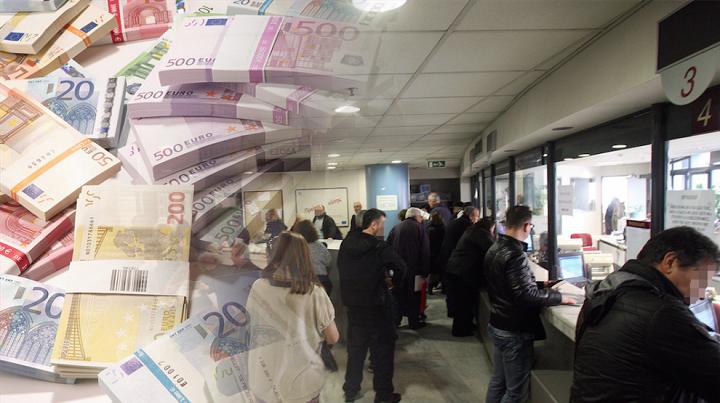 Δύο δισ. Ευρώ ζητά η Εφορία έως την Πρωτοχρονιά