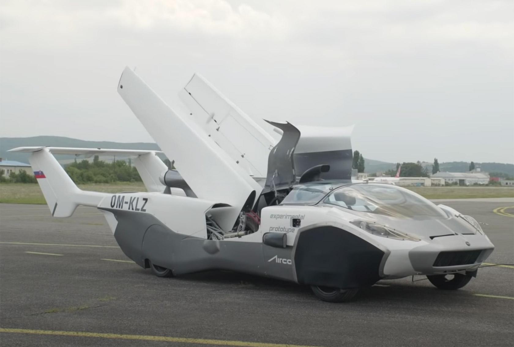 L'auto volante è finalmente realtà | Video