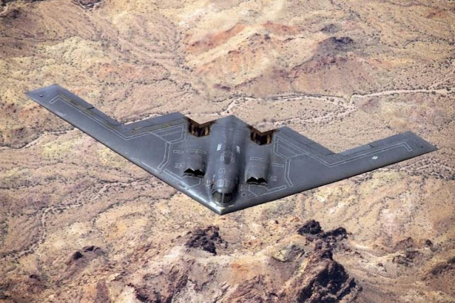 USAF B-2 bombers return Europe