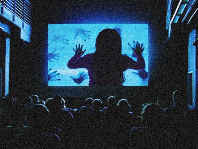 Filmes de terror na quarentena, imagem ilustrativa de um texto sobre os benefícios dos filmes de terror para a saúde.