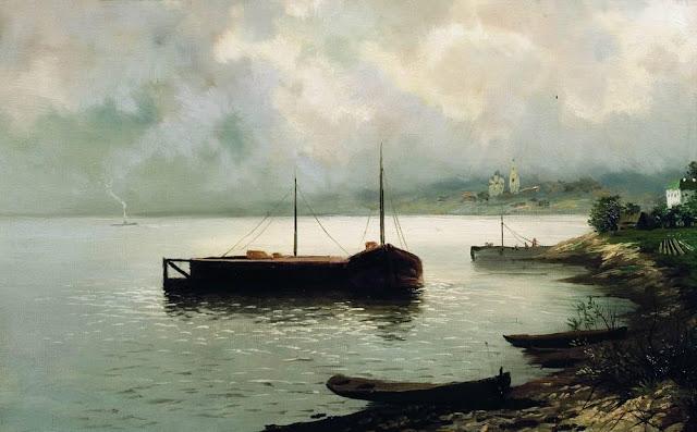 Исаак Ильич Левитан - Волга. 1889