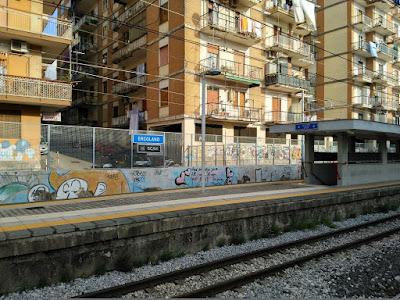 ercolano scavi train stop