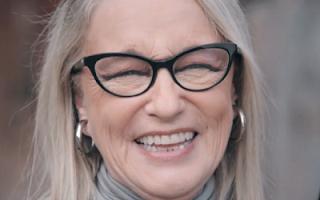 Eleonora Giorgi capelli bianchi