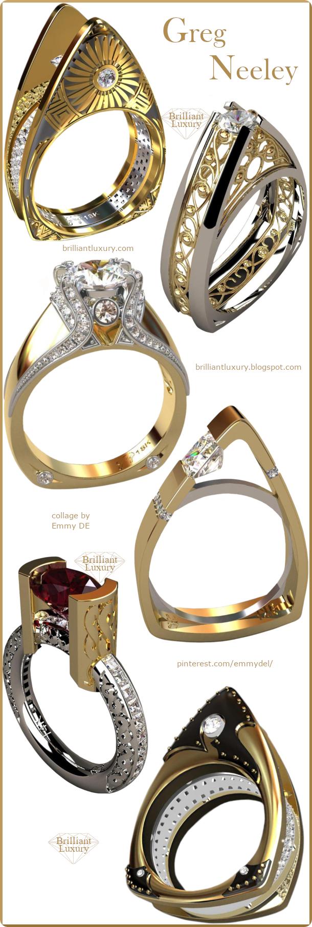 Greg Neeley Jewelry Collection #gregneeley #jewelry #brilliantluxury