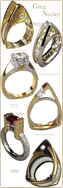 Greg Neeley Jewelry Collection #brilliantluxury