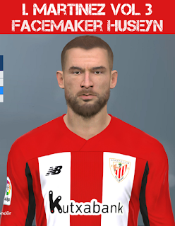 PES 2017 Faces Iñigo Martínez by Huseyn