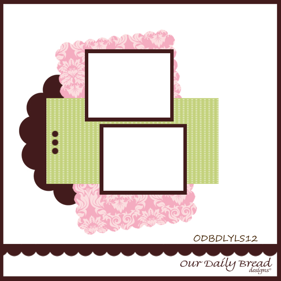 Our Daily Bread Designs Blog Week 4 Scrapbook Challenge