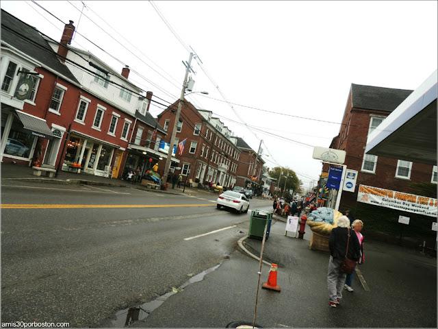 Calle Principal de Damariscotta, Maine