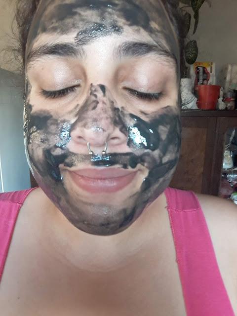 Máscara facial cinza Matto Verde Profissional