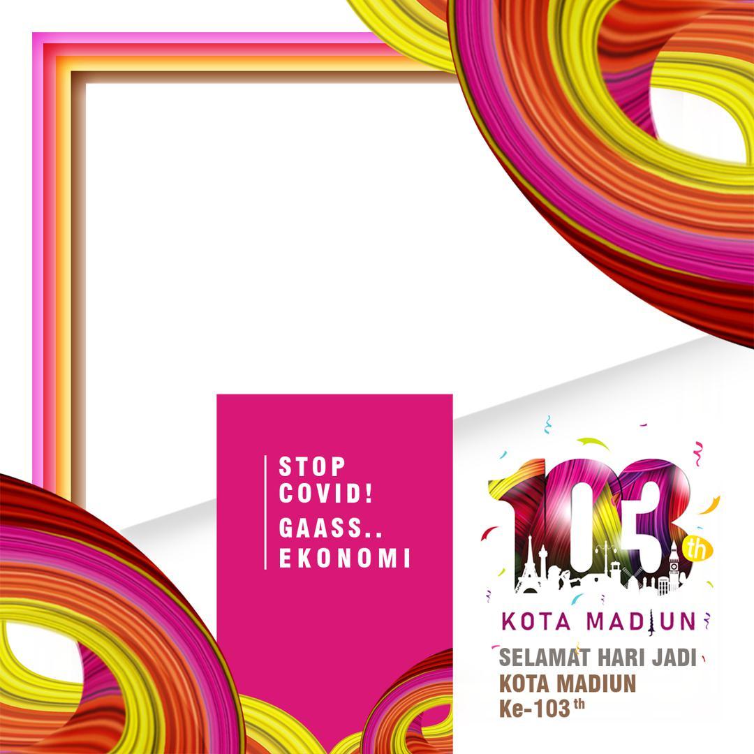 Link Download Frame atau Bingkai Twibbon Ucapan Selamat Hari Jadi ke-103 Kota Madiun 2021