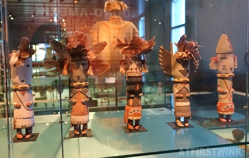 Museum Volkenkunde Leiden North Pole and North America wooden dolls funny expressions