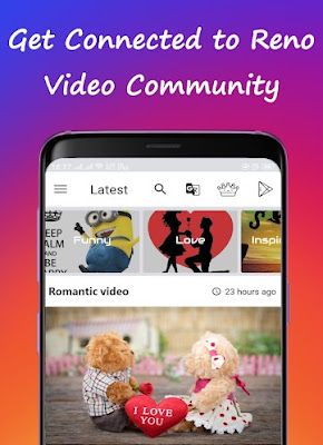 Reno Video Status: Share and Download Video Status
