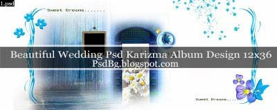 Wedding Psd Karizma Album Design