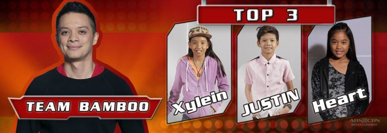 Team Bamboo  'The Voice Kids' Philippines Season 3 Semi-Finals