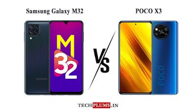 Samsung Galaxy M32 Vs POCO X3
