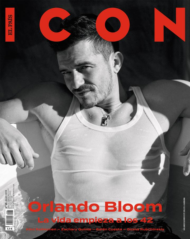 Orlando Bloom para ICON El País Magazine en foto de Pawel Pysz