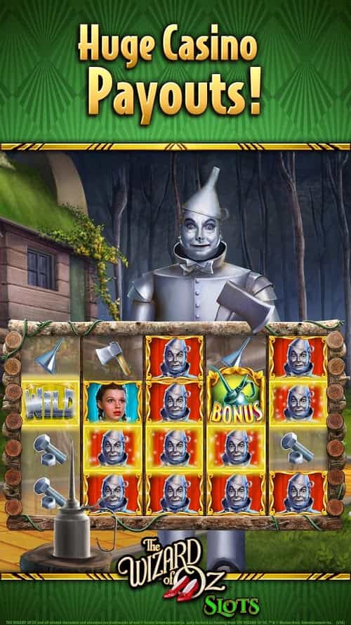 Wizard of Oz Free Slots Casino v152.0.2071 MOD, Unlimited Coins - Game casino cho điện thoại