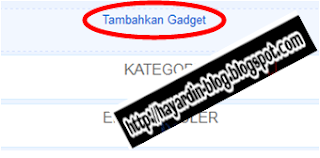 Cara Memasang Yahoo Messenger Pada Blog