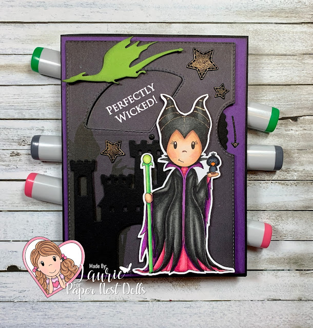 Perfectly Wicked Interactive Card