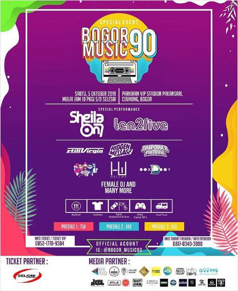 Bogor Music 90