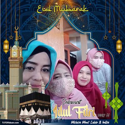 Twibbon Idul Fitri PNG