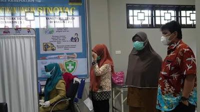 Vaksinasi COVID-19 Dosis 2 Kota Tebingtinggi Kembali Dibuka