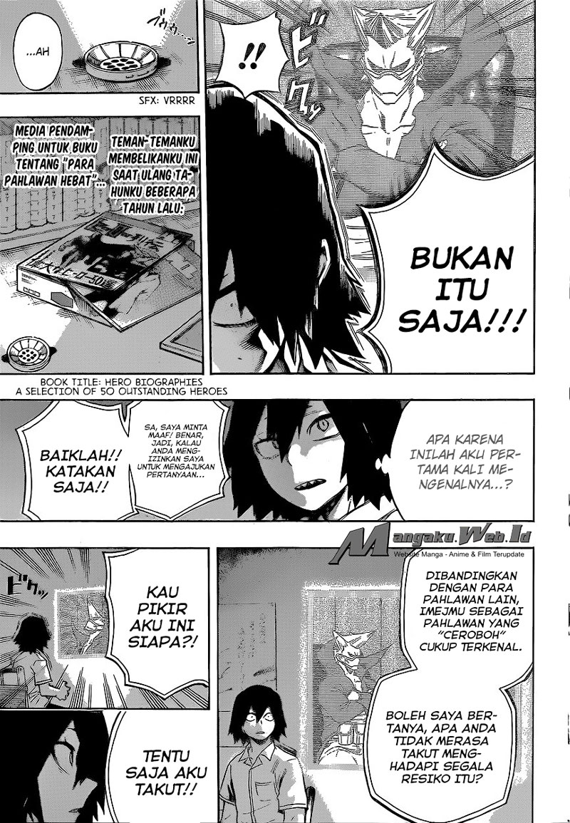 Boku no Hero Academia Chapter 145-5