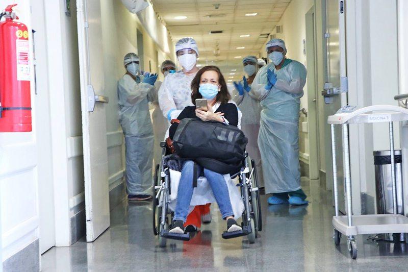 Marianela Vargas estuvo 13 días en coma por  coronavirus