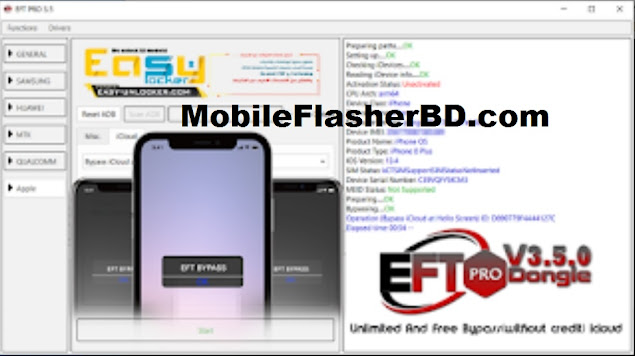 Download EFT Dongle Pro V3.5.0 Unlimited And Free Bypass - No Need Credit Balance