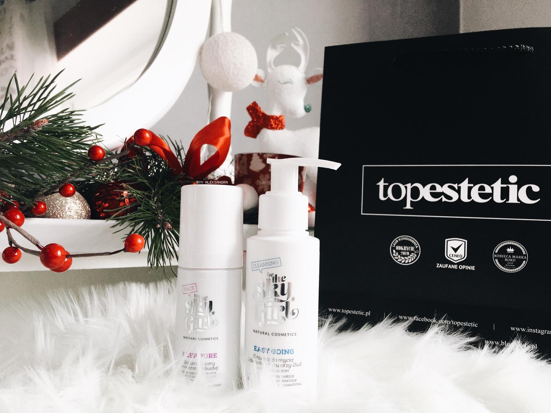 Nowości od topestetic.pl - Be The Sky Girl! Emulsja do mycia twarzy 2w1 oraz serum do cery mieszanej i tłustej