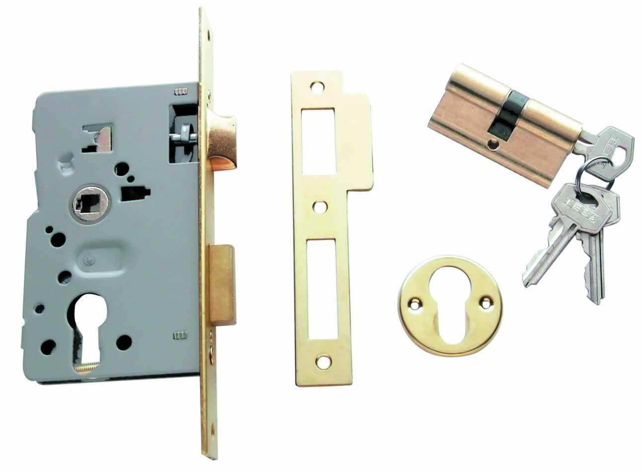 cambiar cerradura puerta blindada tesa