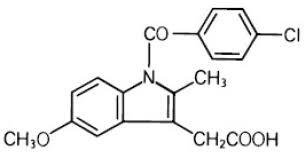 Indomethacin Structure