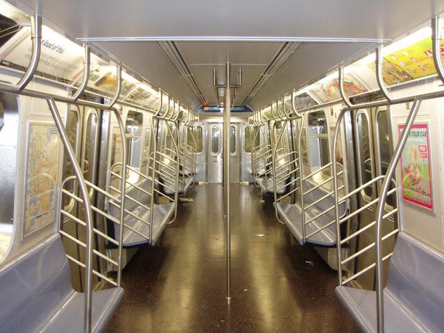 Interno della metropolitana di New York