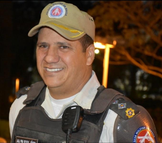 LUTO NA PM | Major Oliva Júnior,  comandante da 77 CIPM