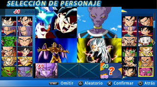 DESCARGA! ISO CROSSOVER DBZ TTT MOD CON MENÚ [FOR ANDROID Y PC PPSSPP]