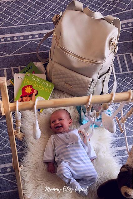 Luli Bebe Monaco Diaper Bag