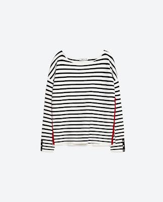 Zara Striped Sweater £25.99