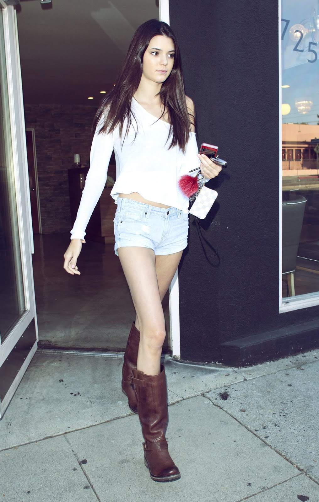 13 - Out and About with Kylie Jenner in Hollywood California on June 16, 2012