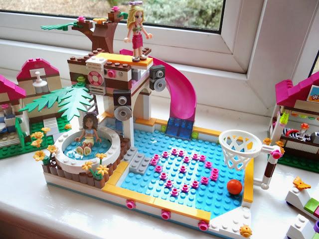 LEGO Friends, Heartlake City Pool Set, LEGO Friends party