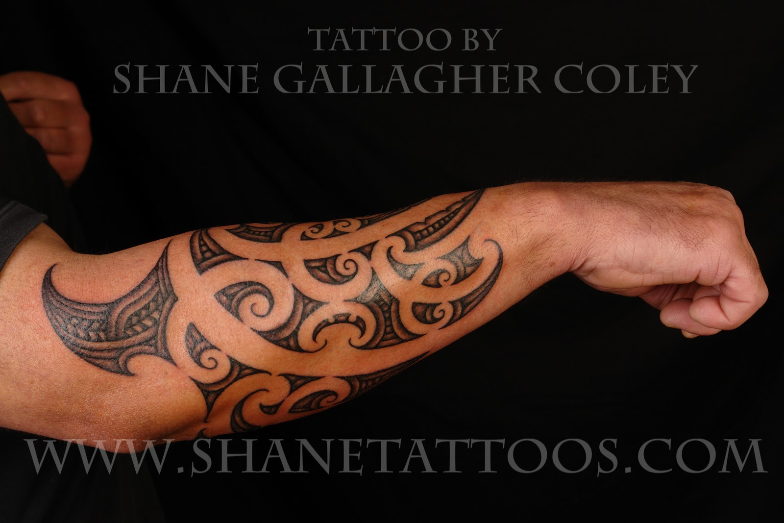 SHANE TATTOOS: Maori Forearm Tattoo