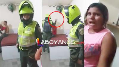 VIDEO: Mujer denuncia a su amante porque no le respondió en el Motel