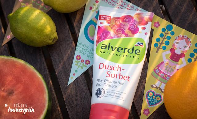Alverde Dusch-Sorbet Bio-Rhabarber Bio-Orange