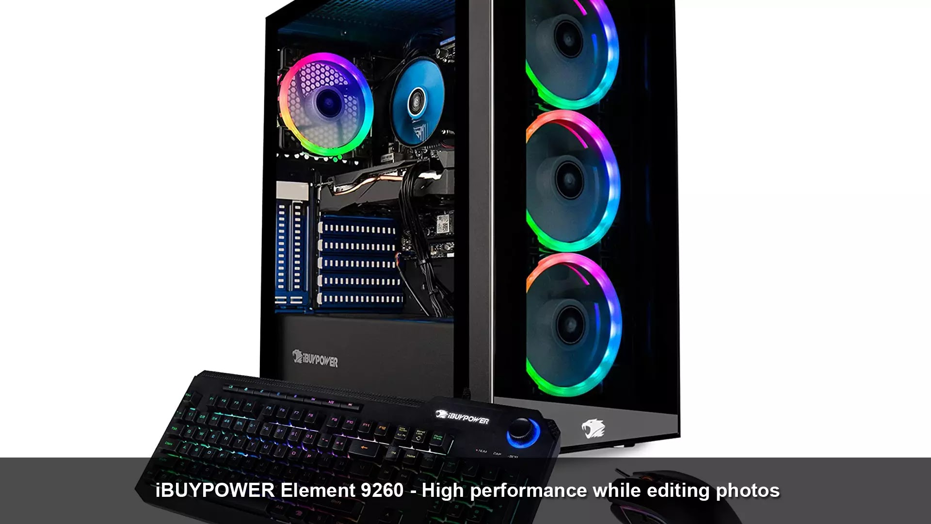 iBUYPOWER Element 9260 - high performance while editing photos