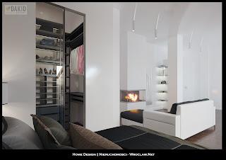 mieszkanie dwupoziomowe - projekt architektoniczny