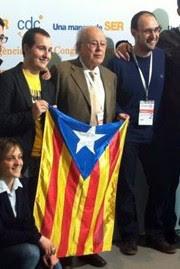 Charnegos ,catalanistes , Jordi Pujol, il capo, estelada, Don Vito