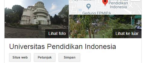Peluang masuk snmptn Universitas Pendidikan Indonesia 2020/2021 {SNMPTN UPI}