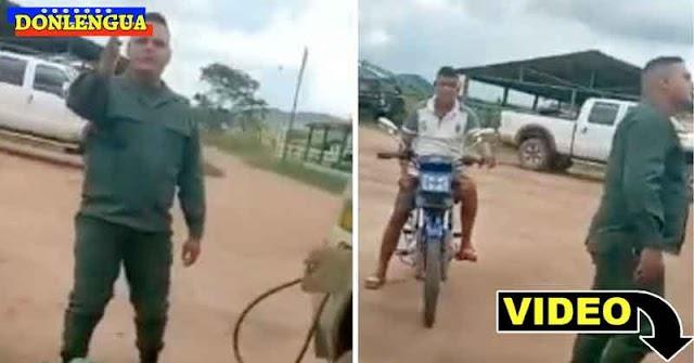 FANB busca Vivo o Muerto al soldado que se sublevó a un superior que robaba gasolina