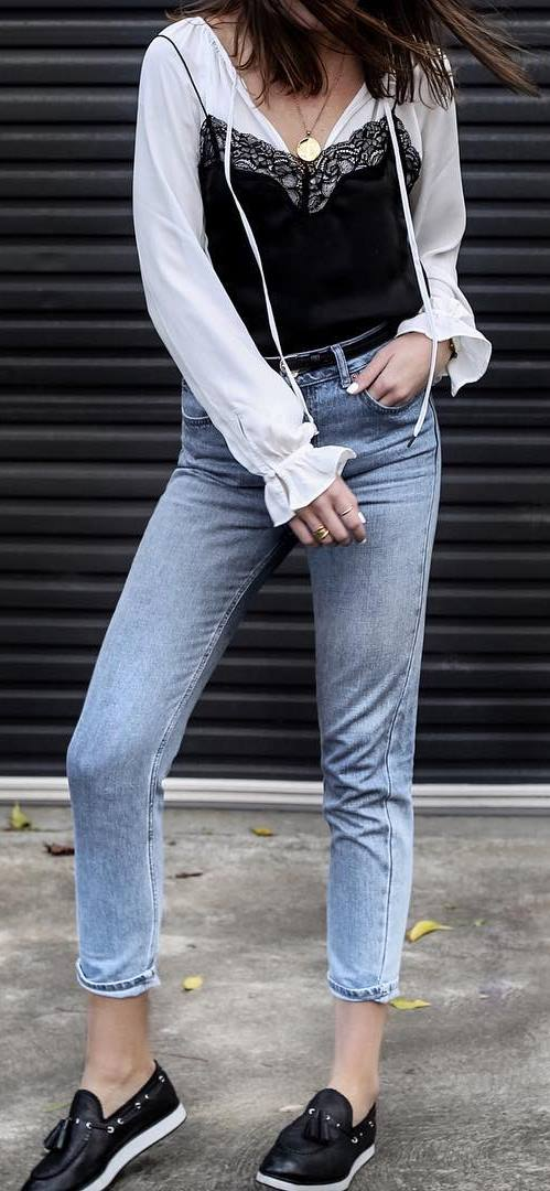 casual style obsession: top + skinnies